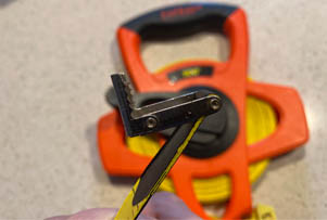 lufkin teeth on tape measure